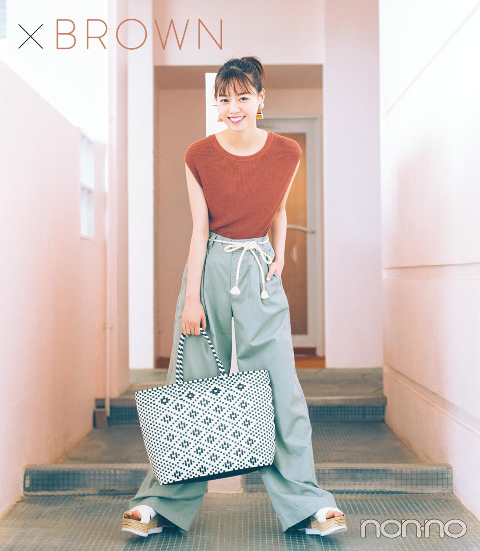 ×BROWN