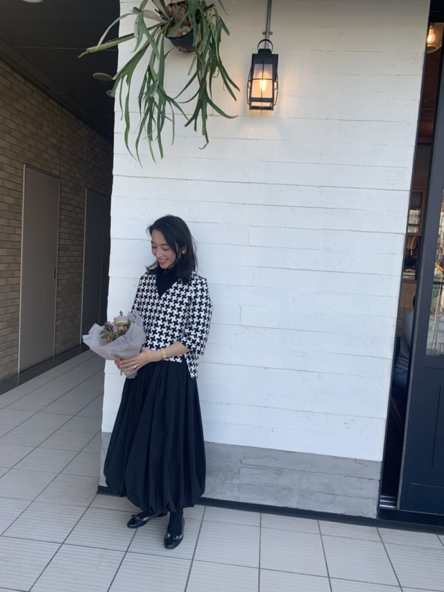 SHE Tokyoのバルーンスカートで美女達と代官山モーニング_1_2