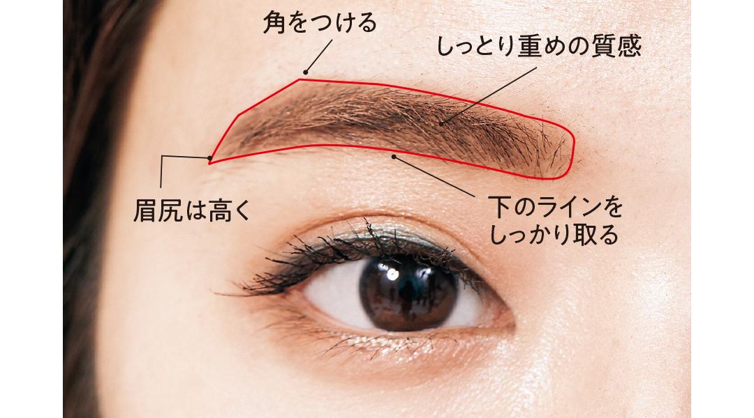 【眉毛を変えたらあか抜けた!②】ほんのり太め&はっきり描いておしゃれ顔! 韓国眉に挑戦♡_1_5