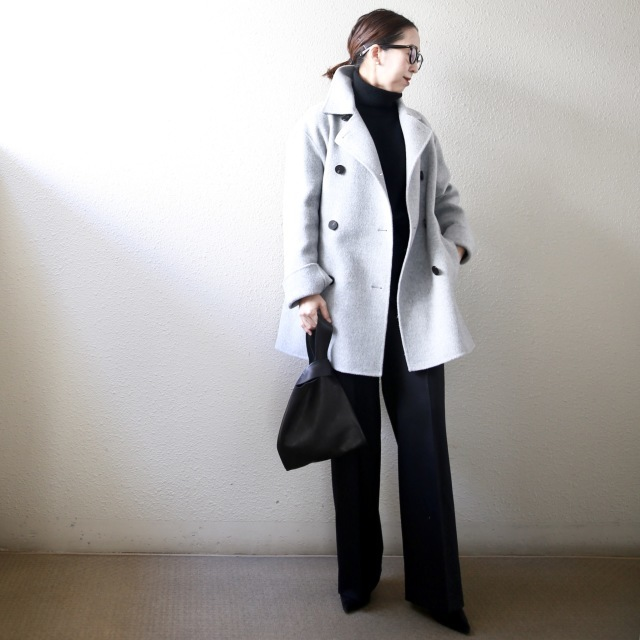 身長低めさんに嬉しいトレンド「ショート丈コート」! 今年の特徴&着こなしのコツは?【小柄バランスコーデ術#02】_1_8
