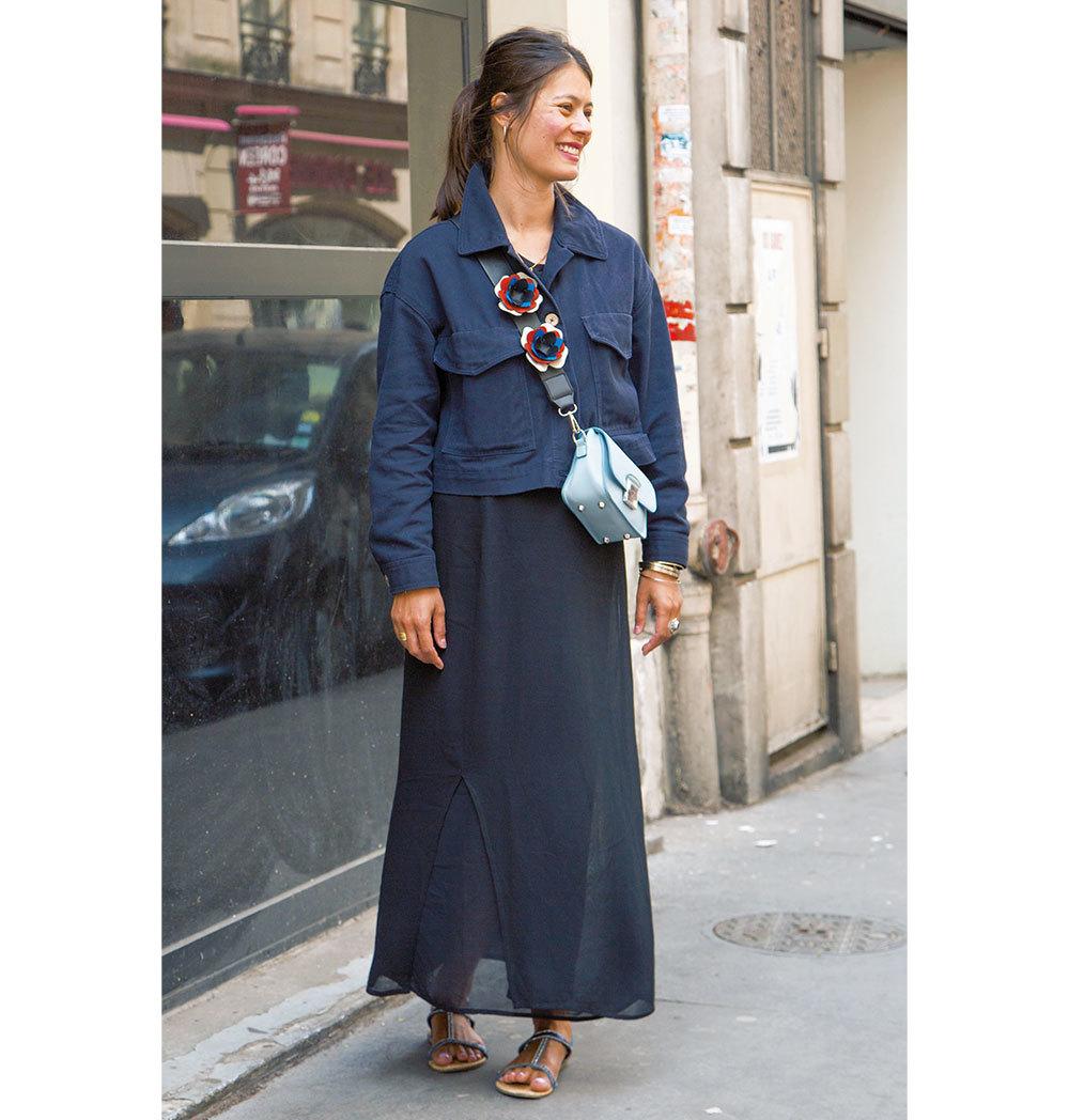 ベーシックカラーのスカートコーデ【ファッションSNAP パリ・ミラノ編】_1_1-3