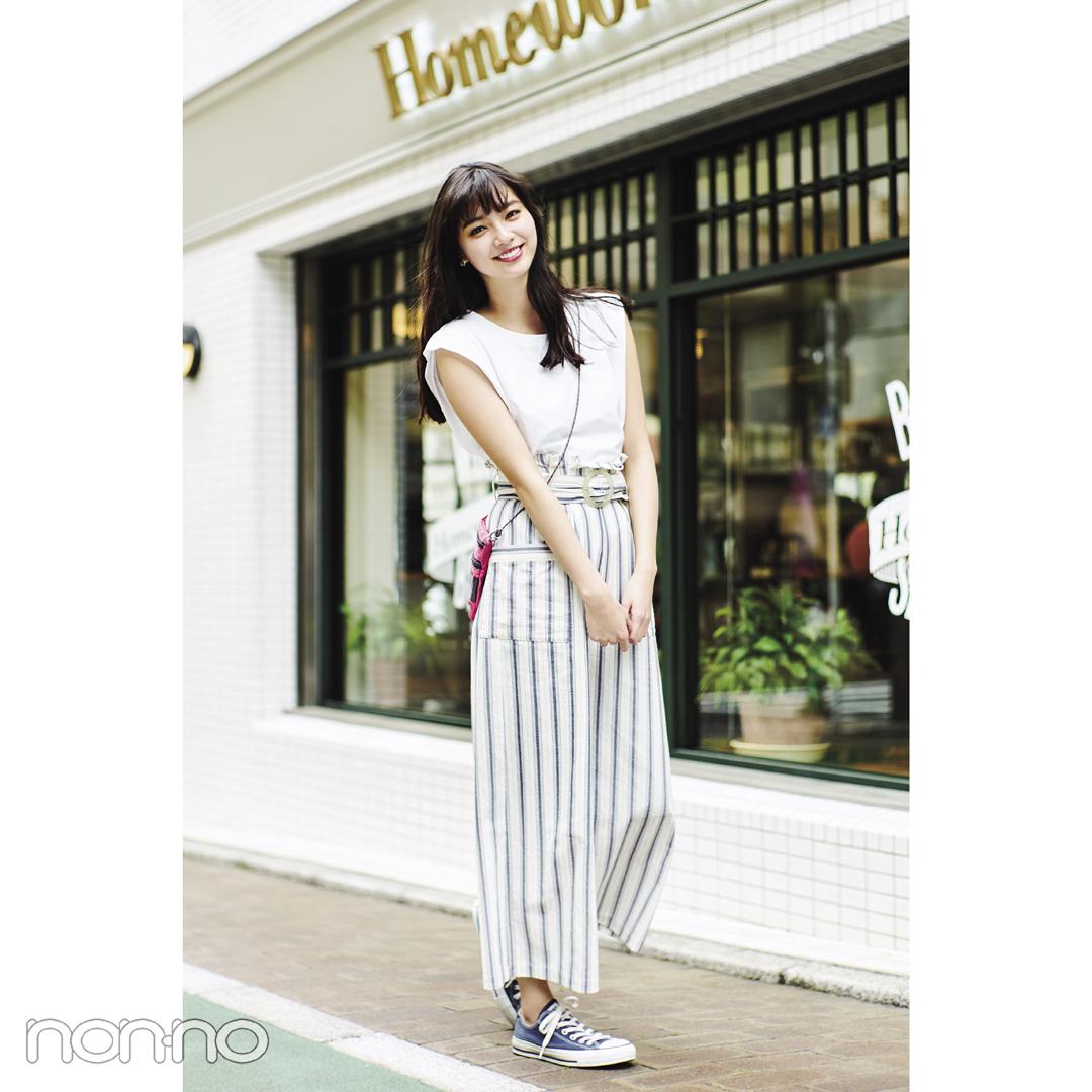 夏の白でモテコーデ★スポカジミックスが新鮮!_1_2-4
