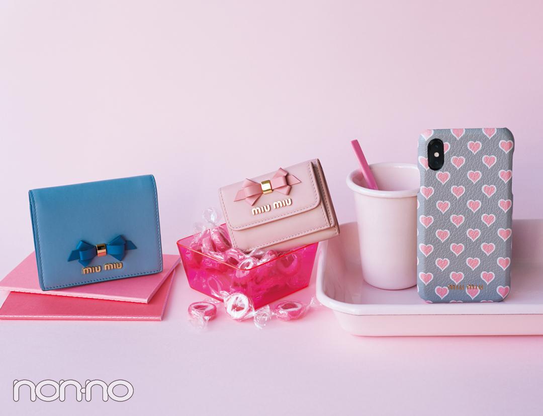 new product f392d 217a2 大人可愛いの大本命♡ ミュウミュウのミニ財布をチェック!【20 ...