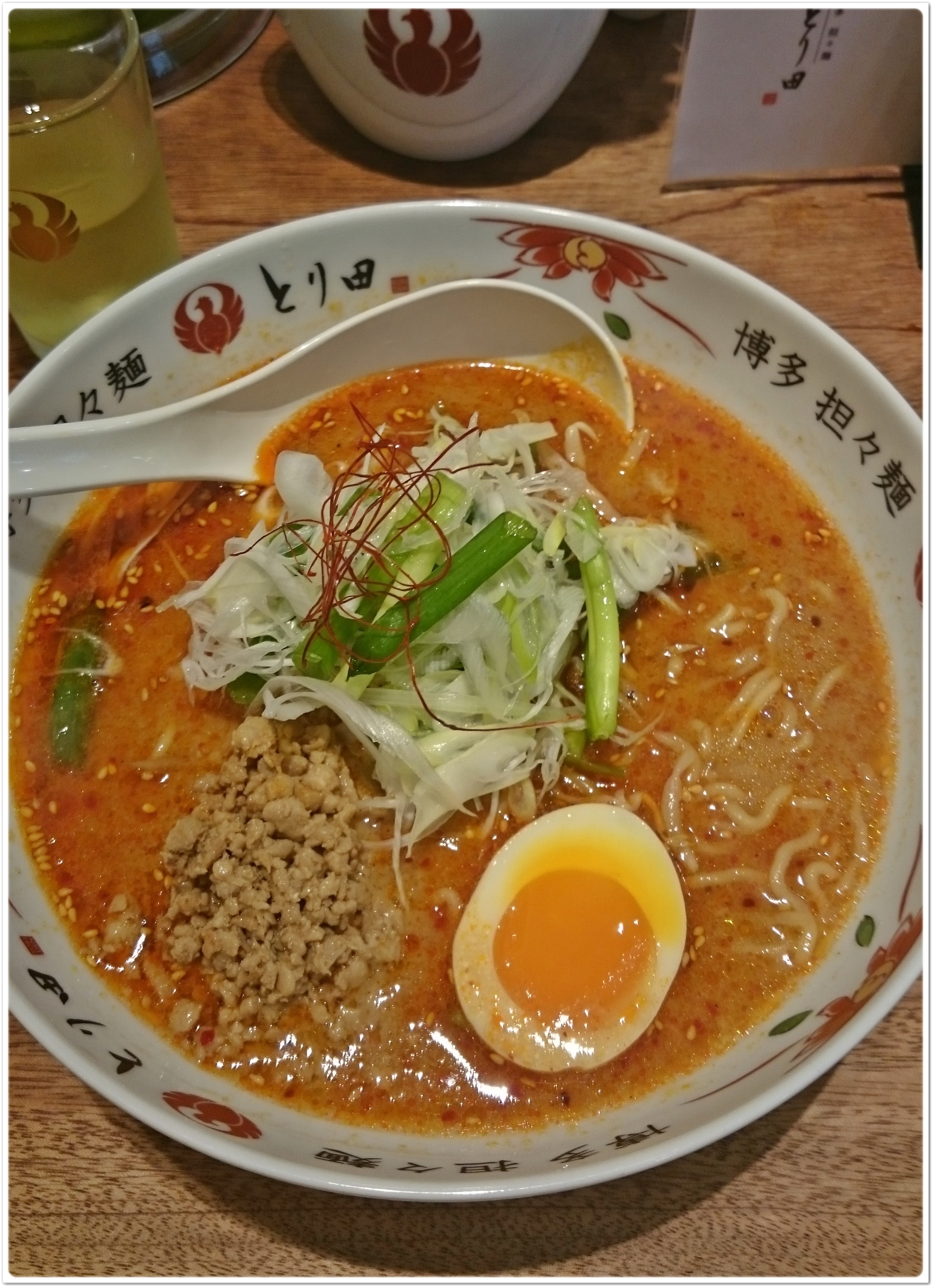 水炊きのスープで作る至極の担々麺_1_1