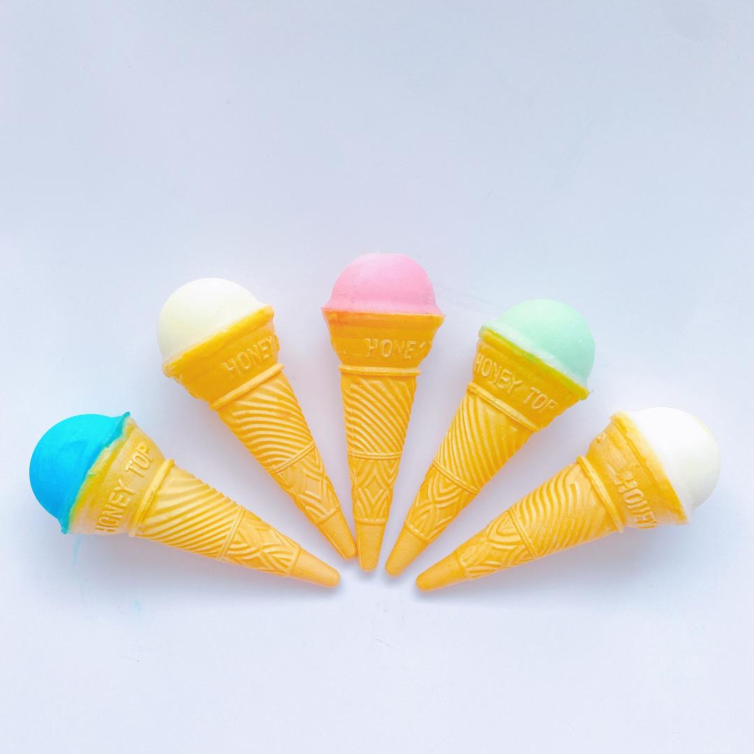 藤田アイス店の通販サイトでお取り寄せした「カランカランアイス」5種