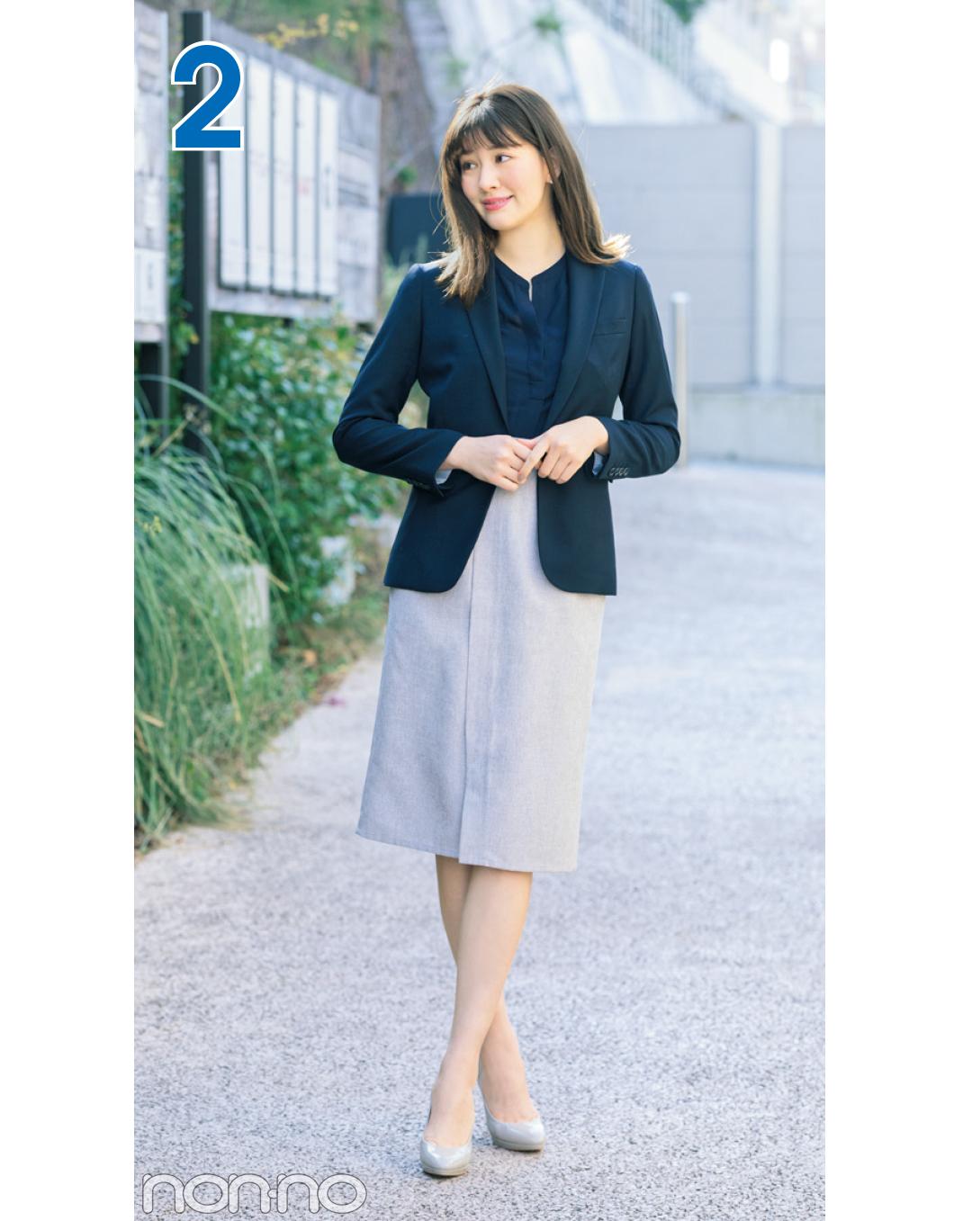 堅めオフィスできちんと見えスカート着回し☆毎日使えるタイトスカート4選!_1_3-1