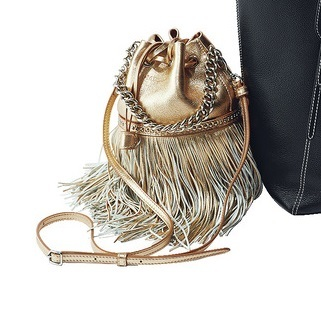 ファッション J&M デヴィッドソンのフリンジカーニバル ミニ