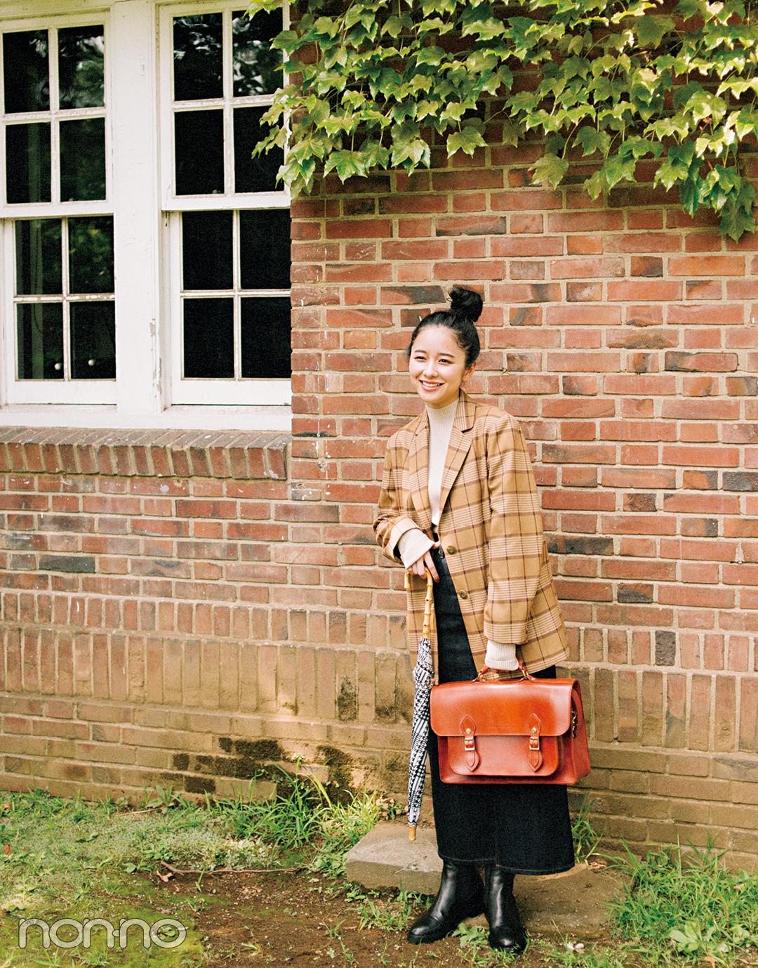 おしゃれで話題の女優・堀田真由がモデルに挑戦★ 英国ガールに変身! _1_4