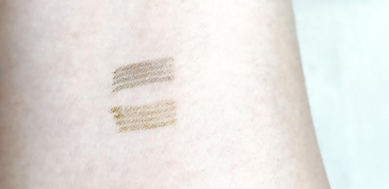 Fujikoの書き足し眉ティントのカラーをスウオッチ