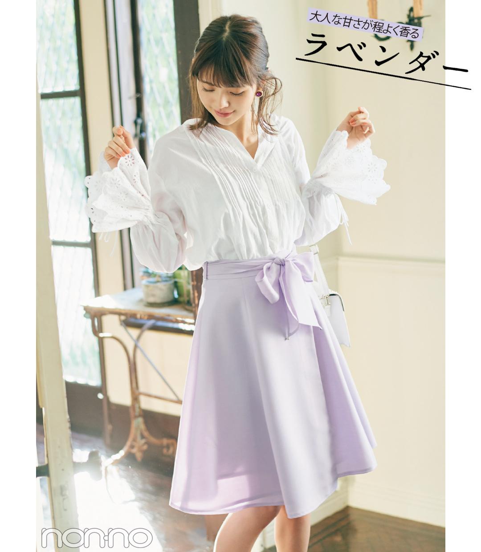 優子&友菜&優華が着る! 盛れる♡ きれい色スカートのコーデ4選_1_1-2
