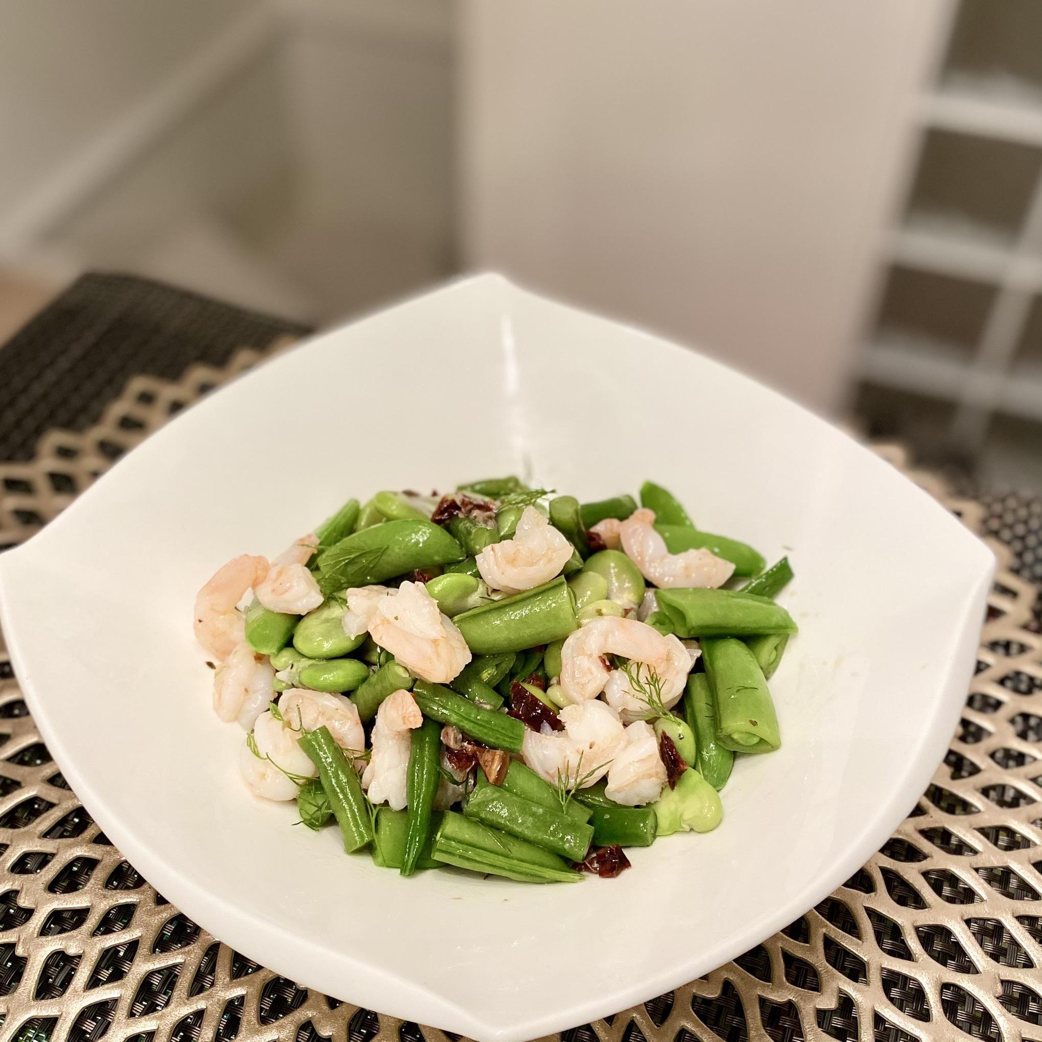 春の豆サラダ