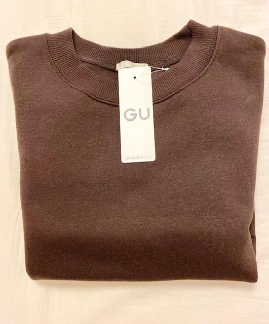 【GU】990円 スエットで、秋コーデ_1_1