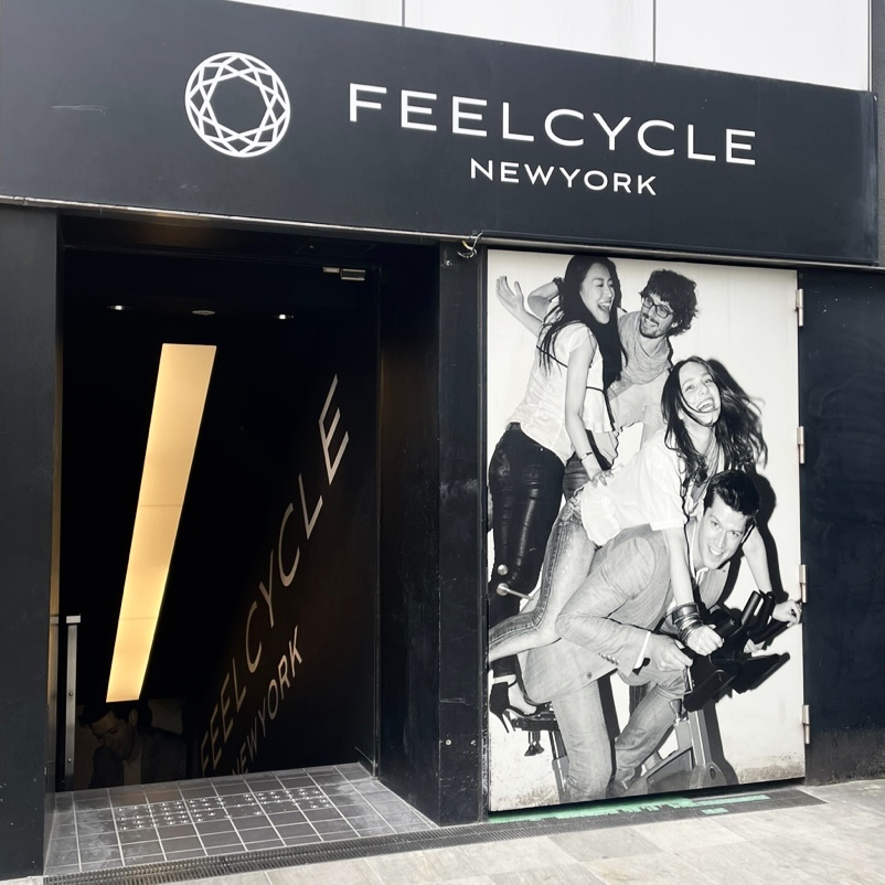FEEL CYCLEのトライアルレッスンへ_1_1-1