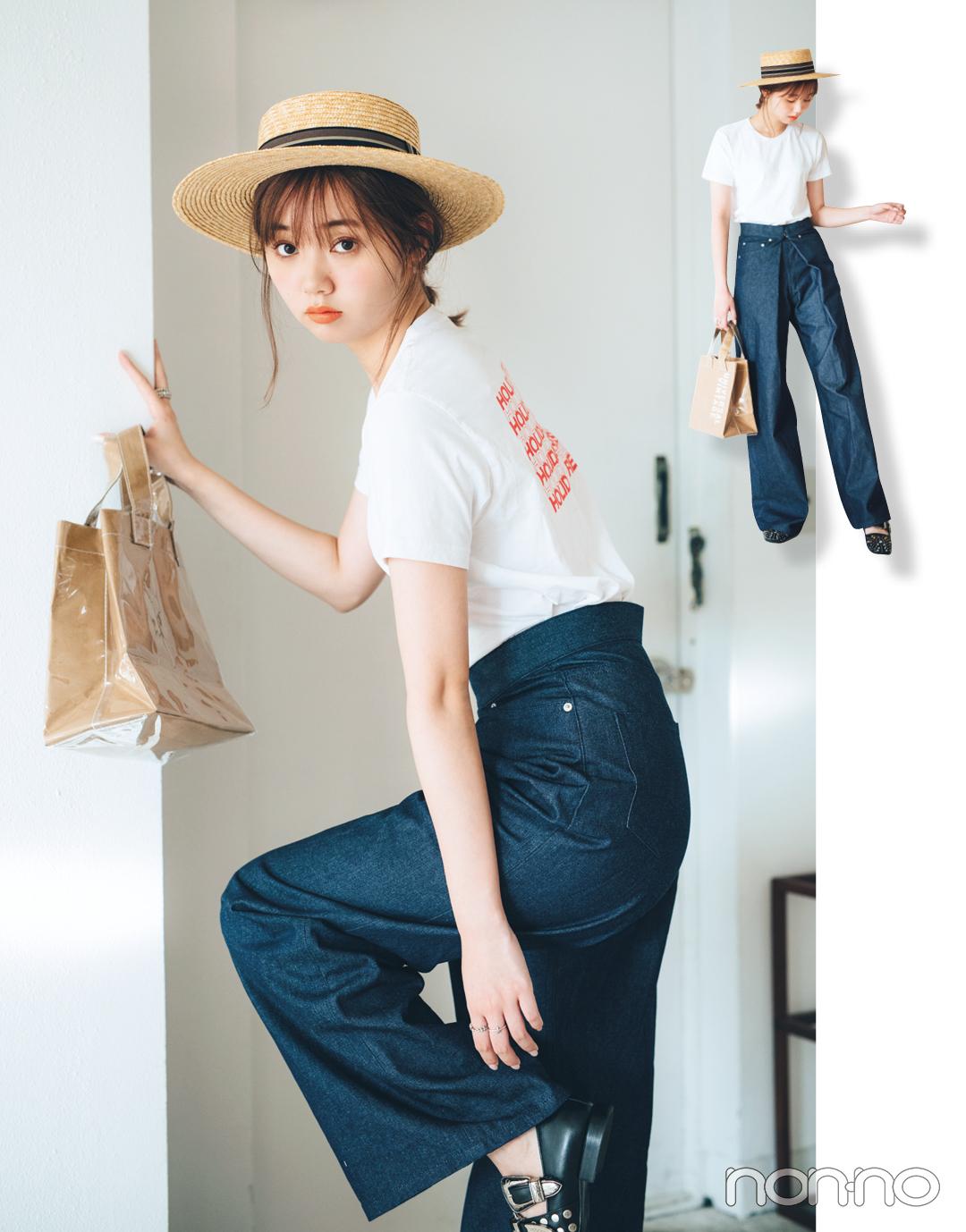 この夏、江野沢愛美は何を着る? ミックスカジュアルの達人の私服コーデを拝見!_1_2-1