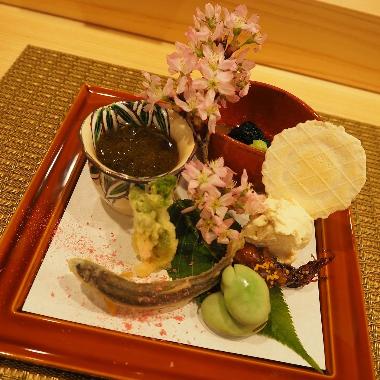 神楽坂「あさだ」前菜