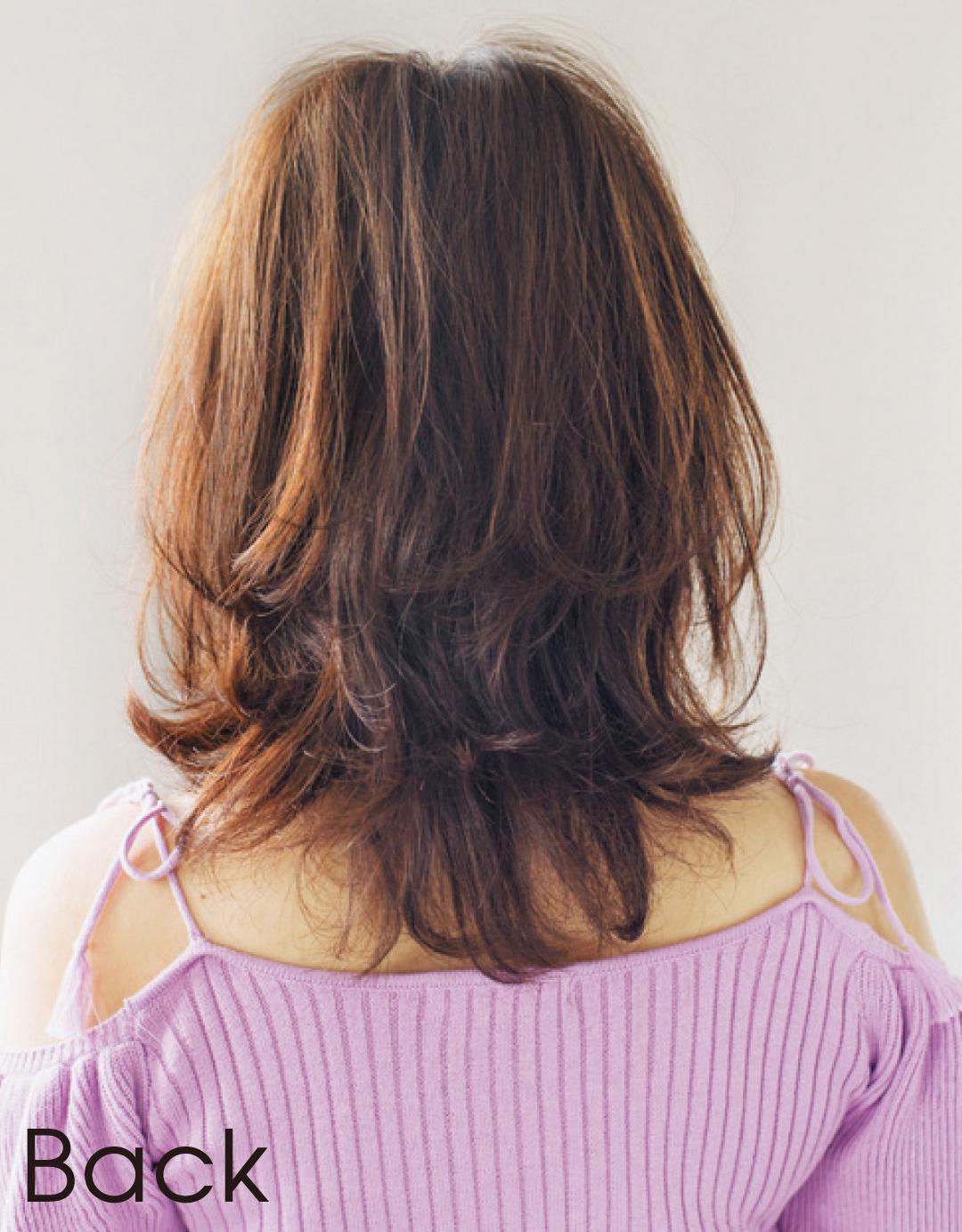 直毛でもふんわり感が出せる! 有村架純さん風ミディヘアはコチラ♡ _1_4-2