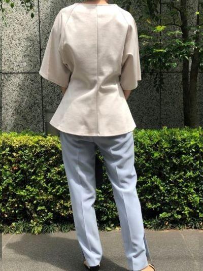 ELIN×eclat ラグランスリーブT ¥20,900