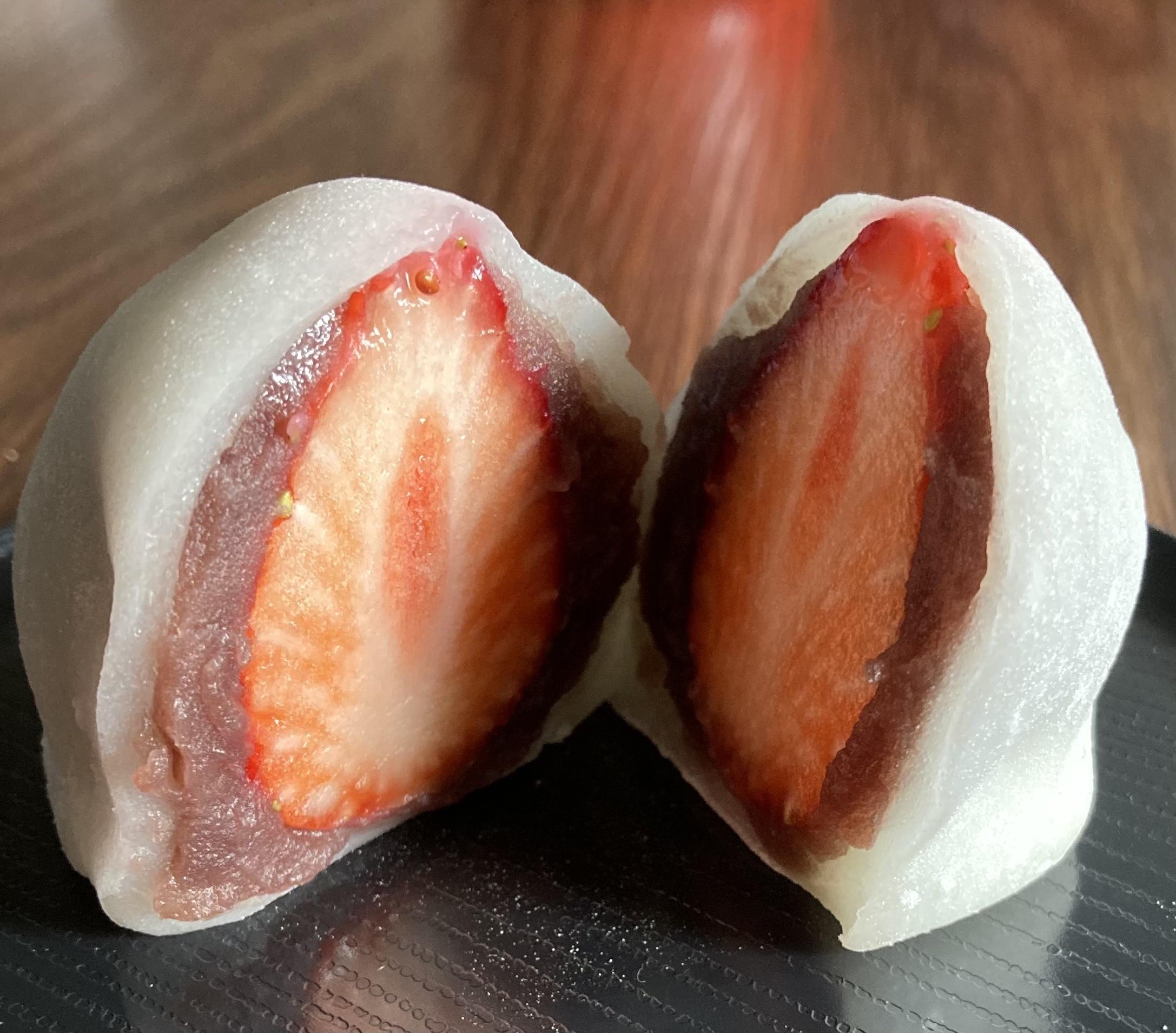 銀座あけぼの 苺大福