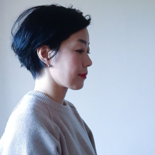【40代のためのショートヘアスタイル】冬だからこそ短くカットしました!_1_3-2