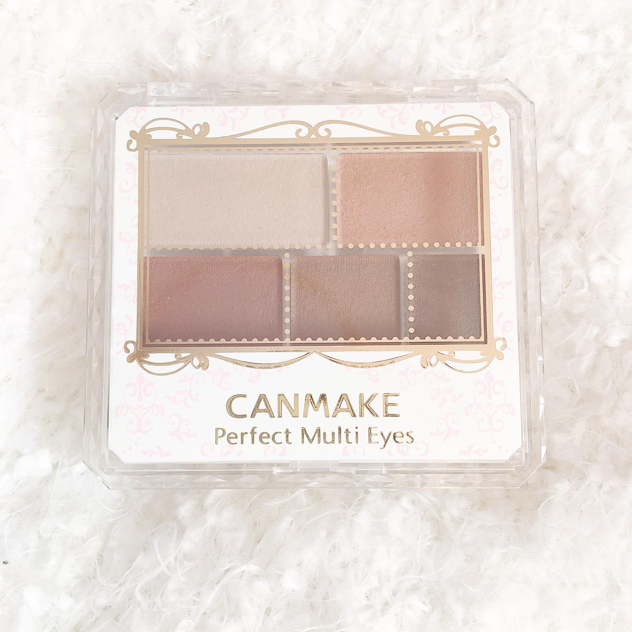 【大人気❤︎】CANMAKEの新作アイシャドウ_1_1