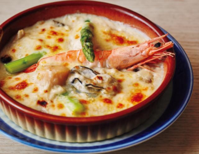 寿司屋のグラタン