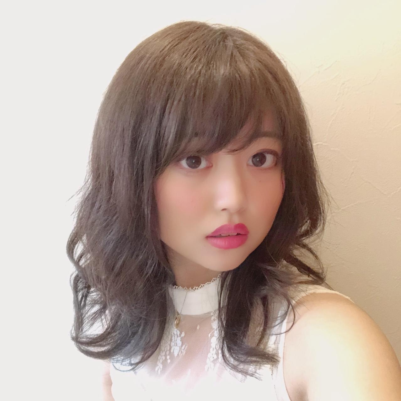 イメチェン❥夏っぽ、透け感ダークカラー_1_1-1