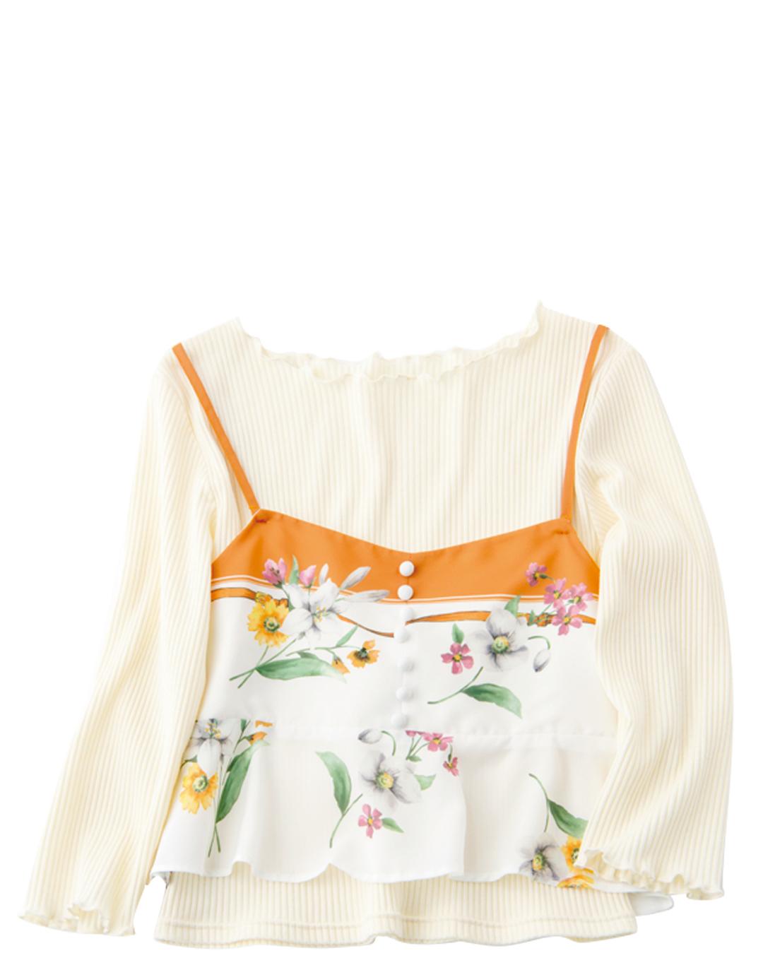 花柄スカート、差をつけるならノエラのスカーフモチーフ♡ _1_4-3