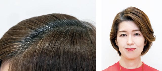 大人のヘアカラー研究 立体感ハイライト