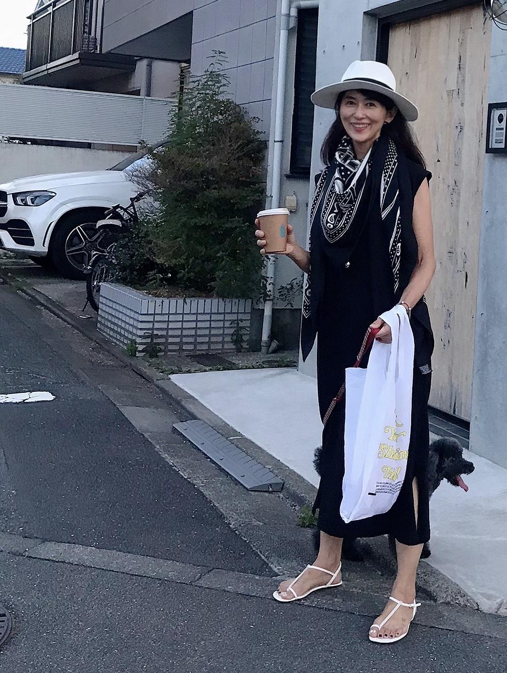 愛犬とのワンマイル散歩コーデ_1_5