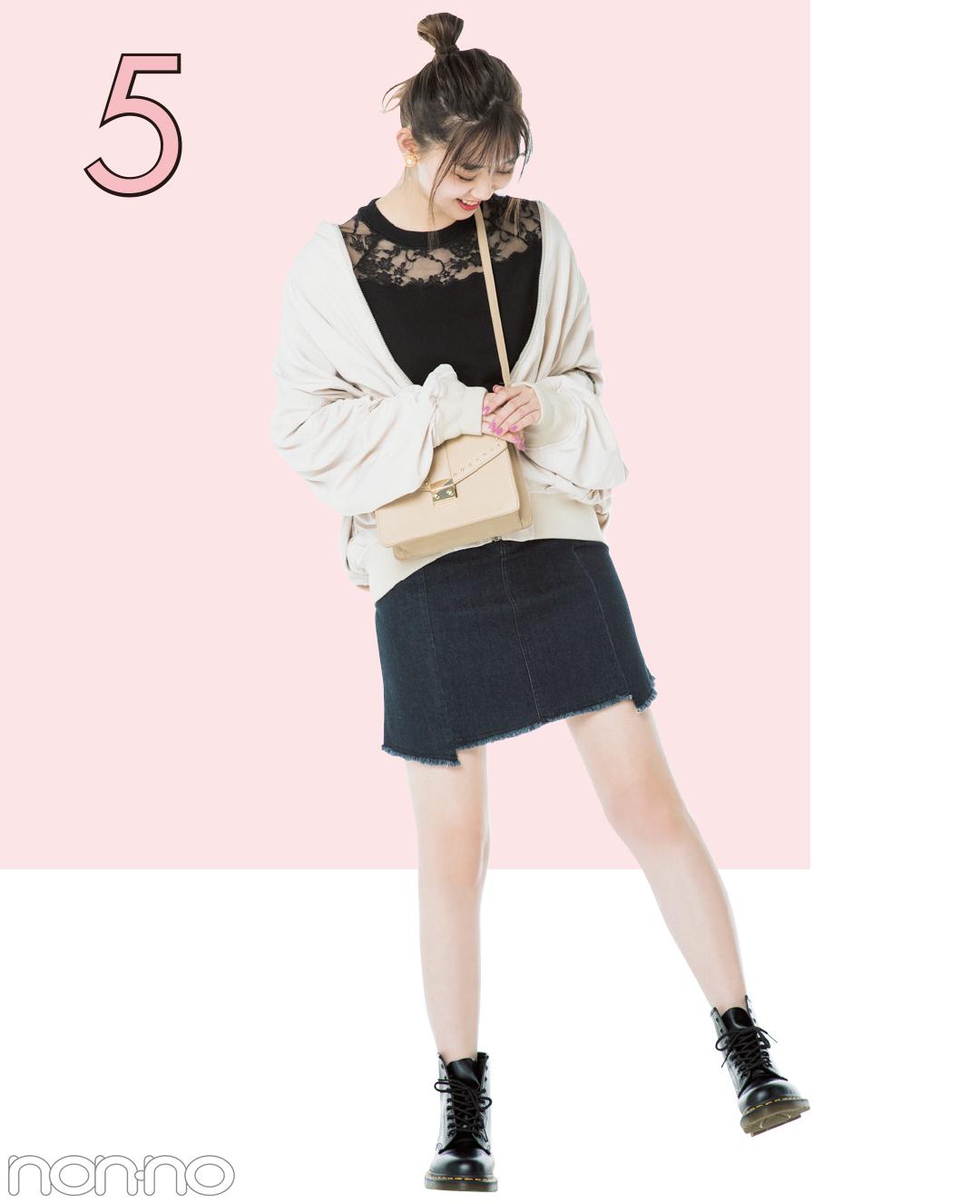 江野沢愛美が部分透けニットを5通りに着回し! 20歳からの大人っぽコーデ★_1_4-4