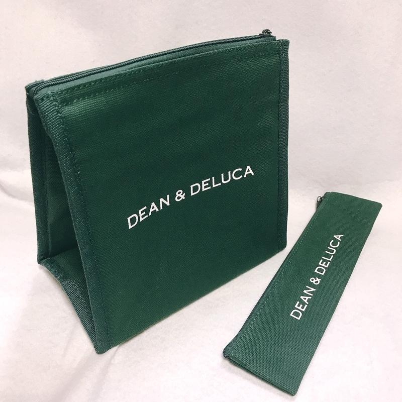 Marisol5月号の付録、ディーン&デルーカの保冷バッグはきれいなSoHoグリーン