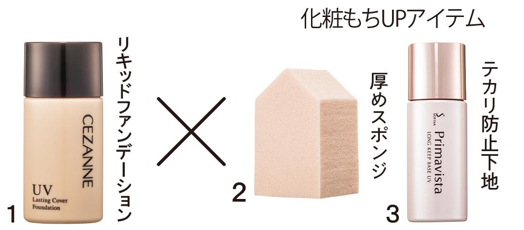 「リキッドファンデーション」で化粧もちを高める♡ 完ぺきプロセス!_1_3