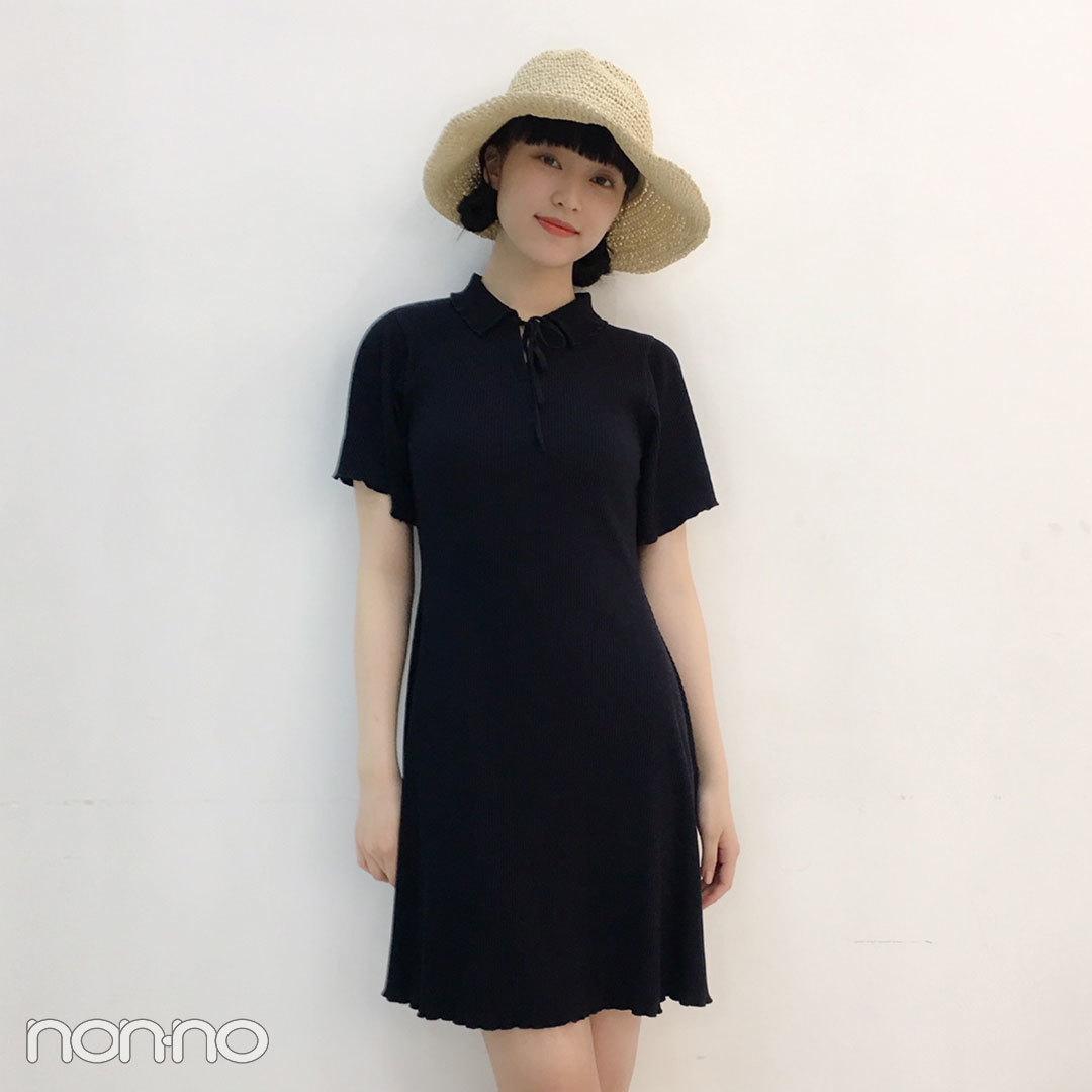山田愛奈は麦わら帽子とクリアバッグで夏っぽコーデ♡【モデルの私服スナップ】_1_2-3