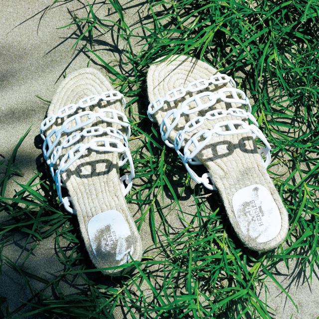 エルメスの靴「アンコーヌ」