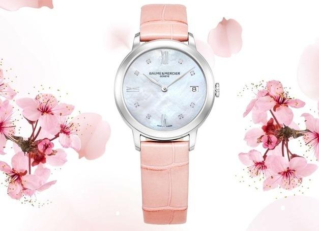 桜の季節にぴったり! ボーム&メルシエの春の限定モデル_1_1-3