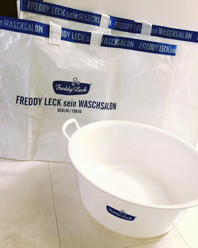 フレディ レック・ウォッシュサロンのウォッシュタブ&ランドリーバッグ