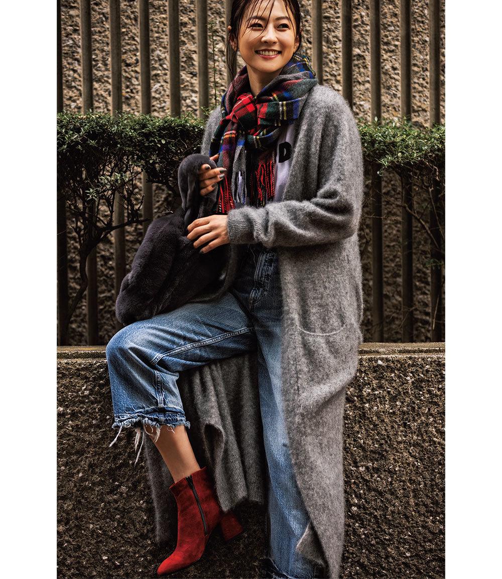 """モデル五明祐子「""""きれい色""""の華やかさが気分!」【My Life,My Fashion!】_1_2-2"""