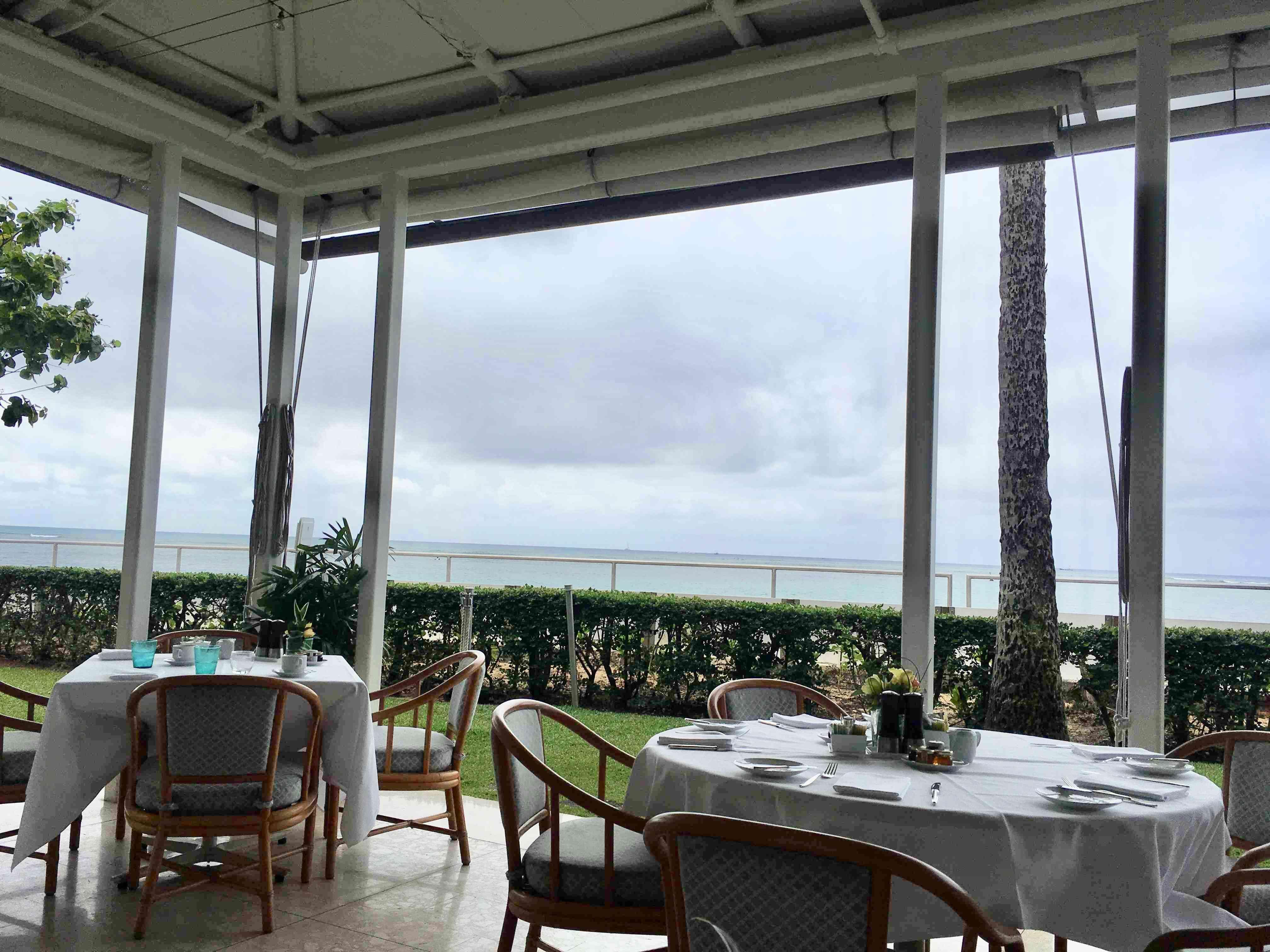 ハワイ 五つ星ホテル ハレクラニで朝食_1_2