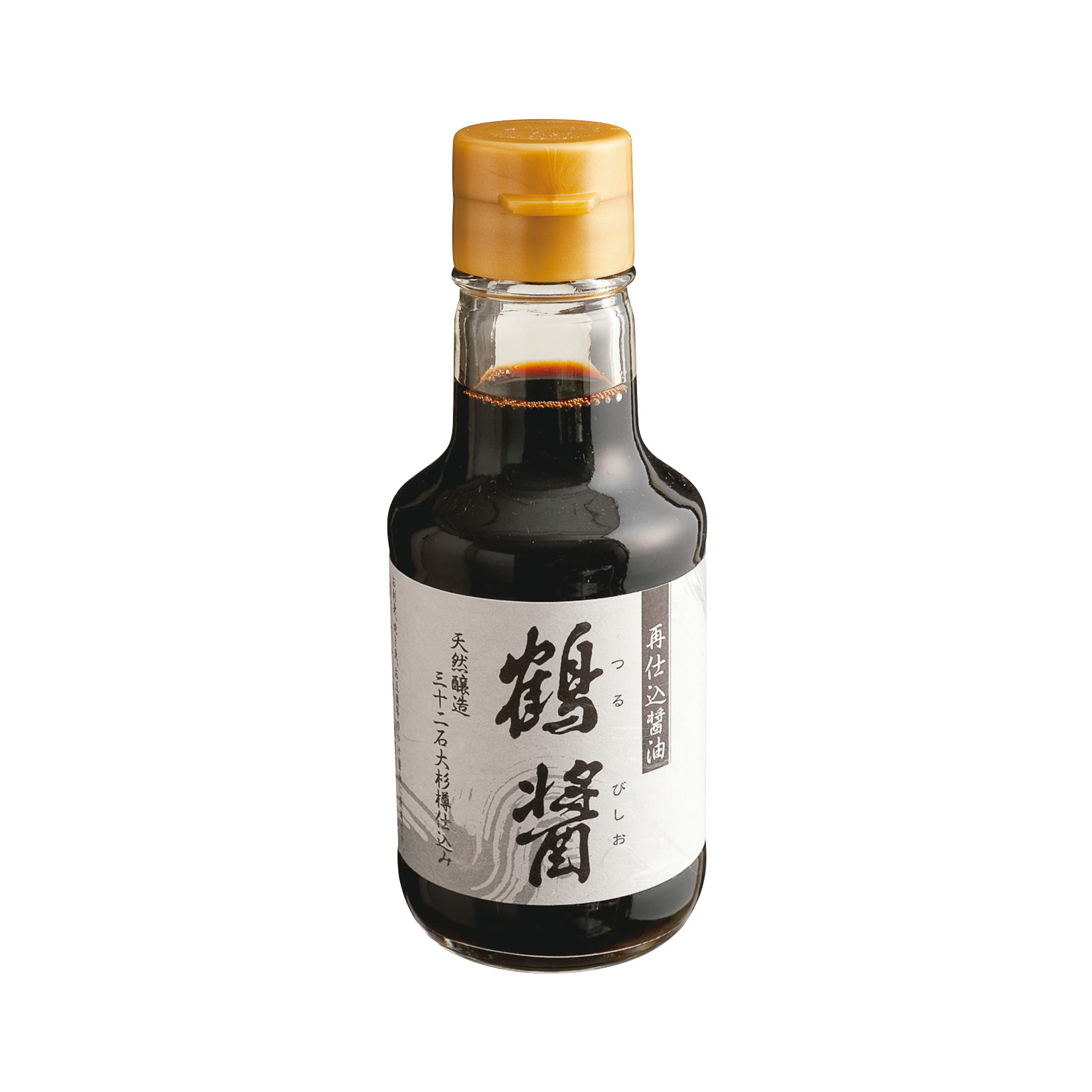杉樽で長期熟成したヤマロク醤油の「鶴醤・菊醤」_1_1