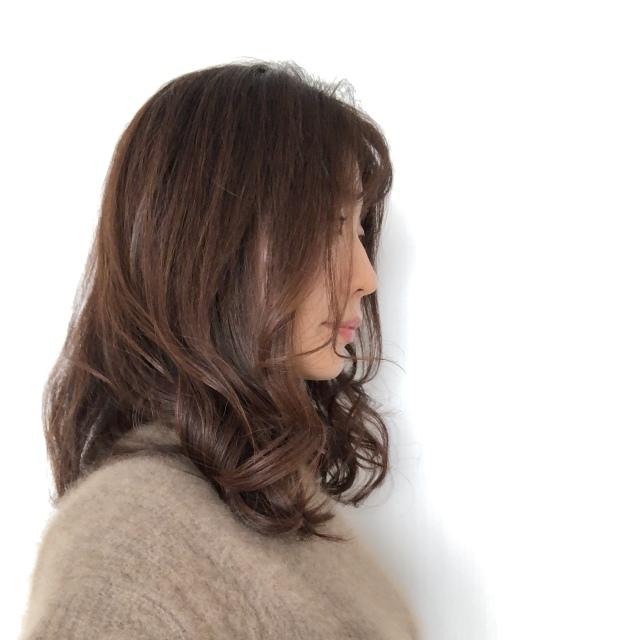 40代髪型 ヘアスタイル ロング