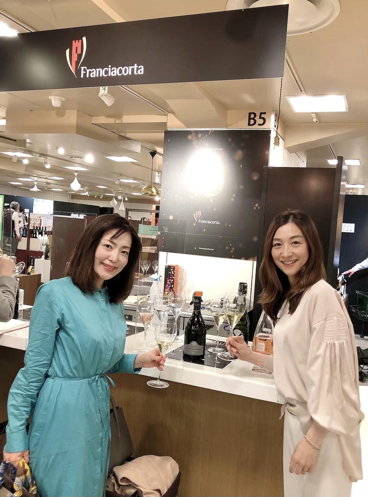 お気に入りワンピースを着て『世界を旅するワイン展2021』へ_1_2-5