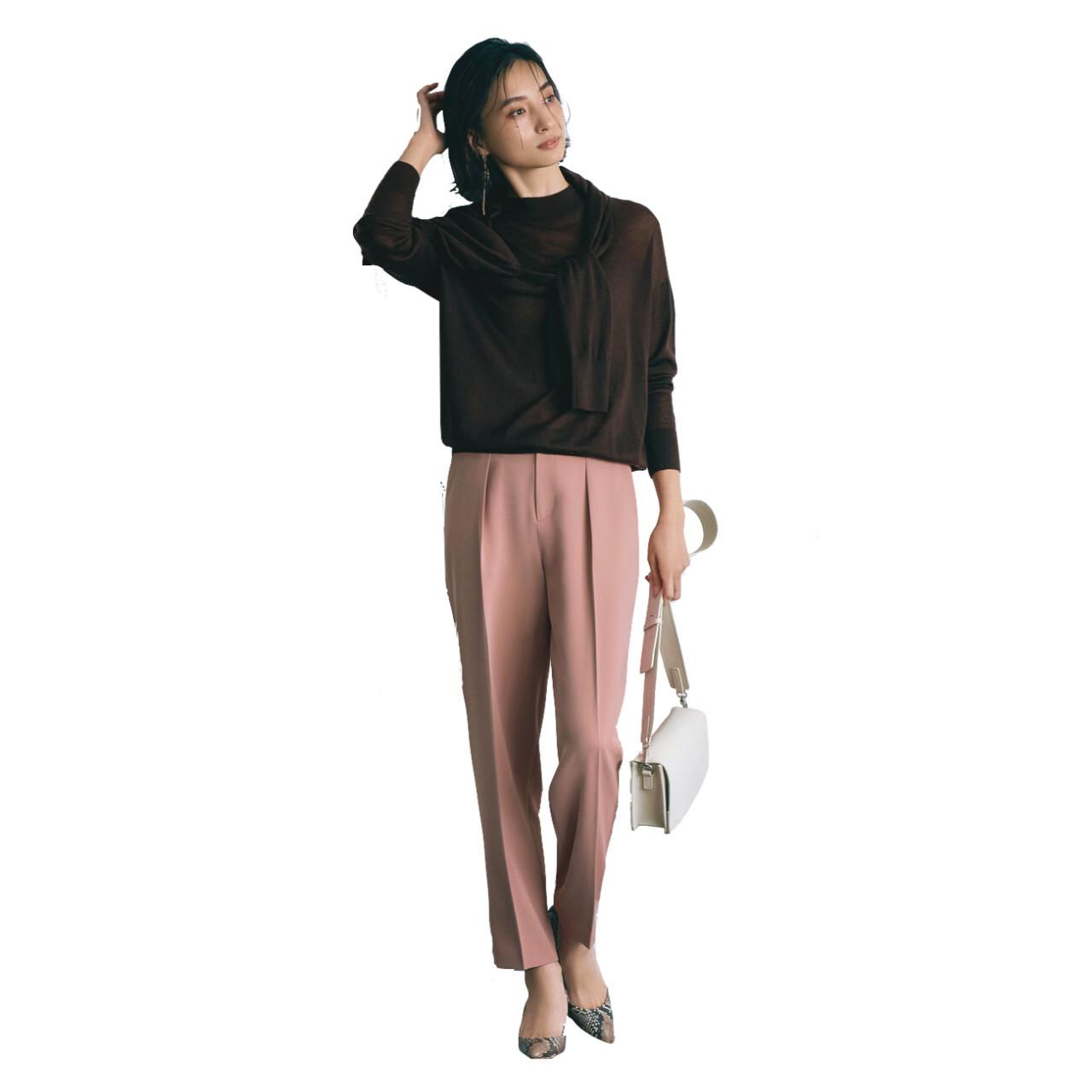 この春、きれい色を楽しむなら「カラーパンツ」がマスト! 40代に似合うカラーパンツ総まとめ|アラフォーファッション_1_3