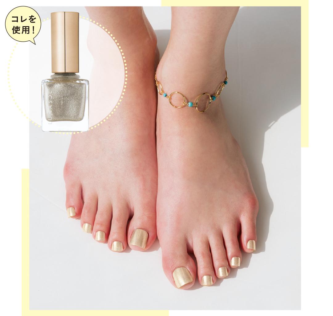 足の素肌をキレイに見せるペディキュアの色、知ってる?_1_1-1