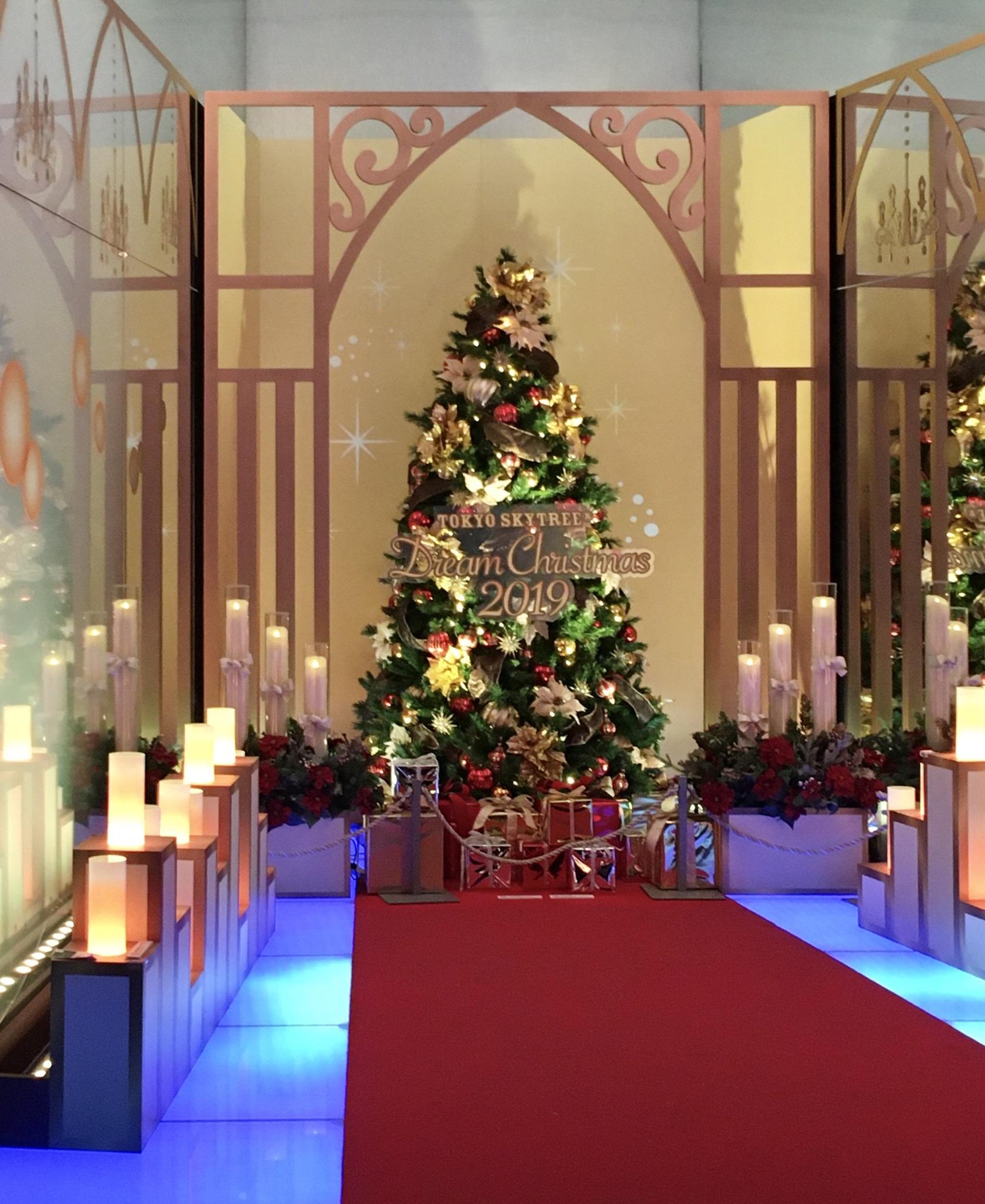 【デートにおすすめ】スカイツリーのクリスマス仕様がすごかった!_1_5