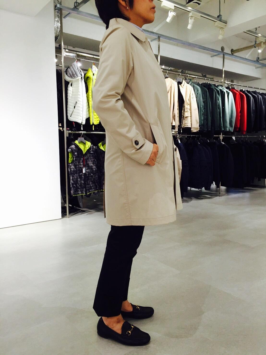 このステンカラーコートに一目惚れ。またまた買っちゃいました!_1_1