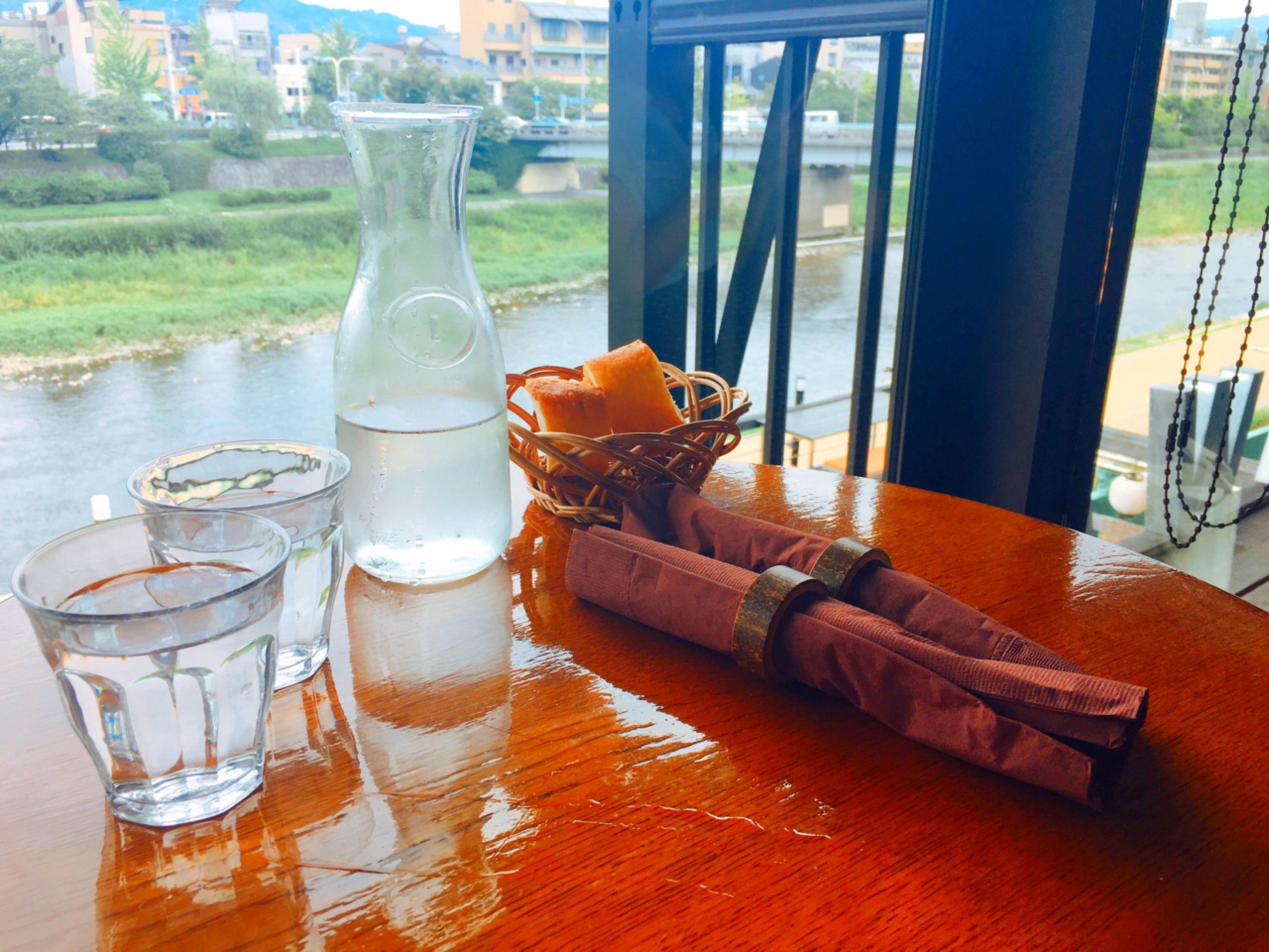 【このKYOTO cafeがアツイ!!】鴨川を見ながらランチ♡ kawacafe に行ってきました❁.*・゚_1_3