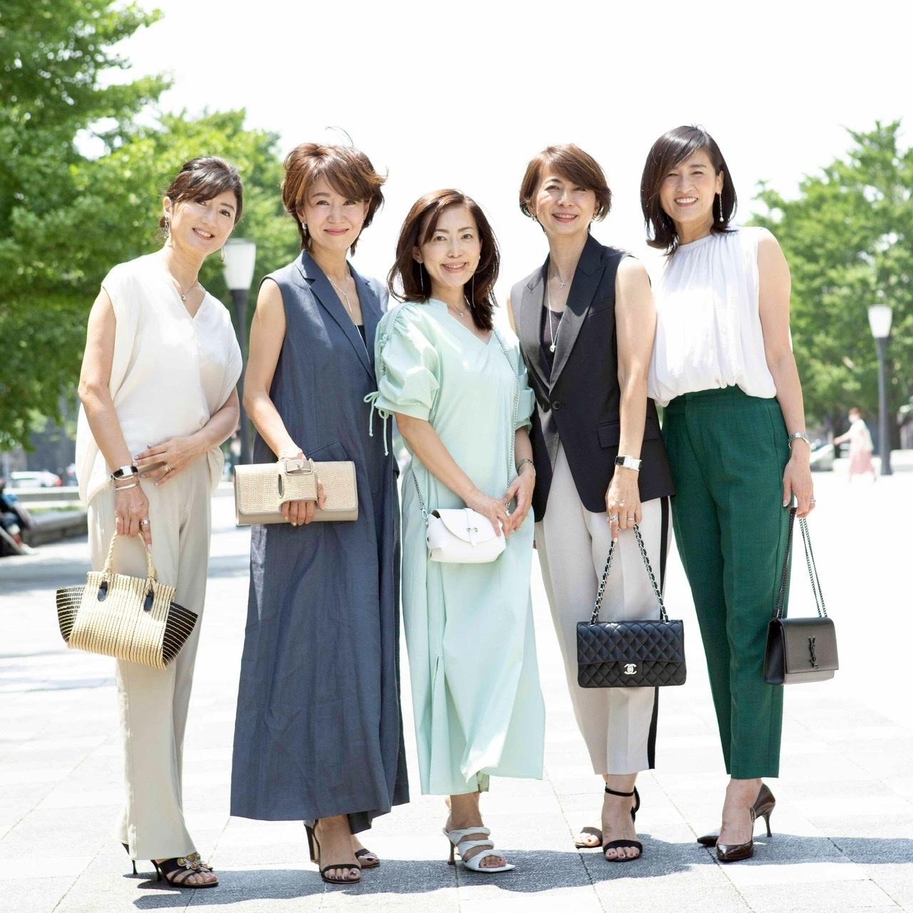 「女友だちと会う日のおしゃれ」華組SNAPに参加しました_1_4