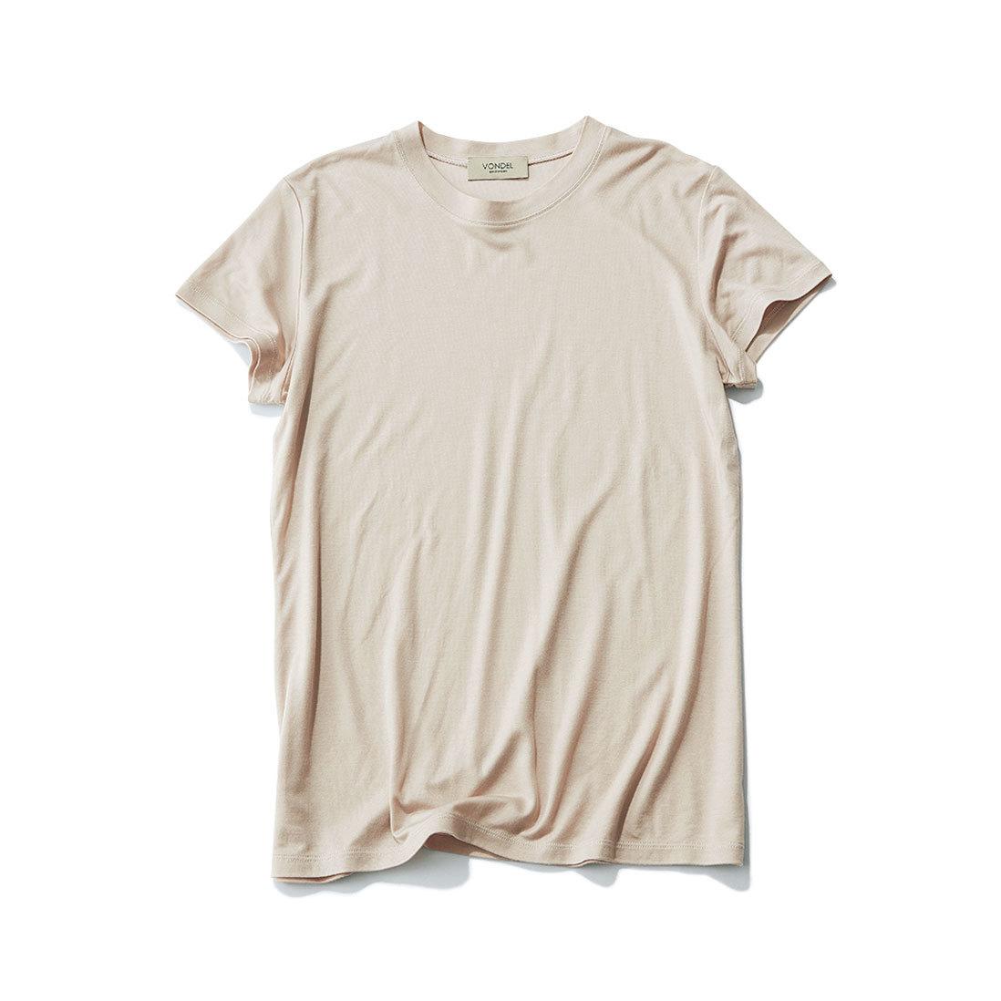 スモーキカラーがしゃれ感を発揮。スカートに合う「カラーTシャツ」_1_1-2