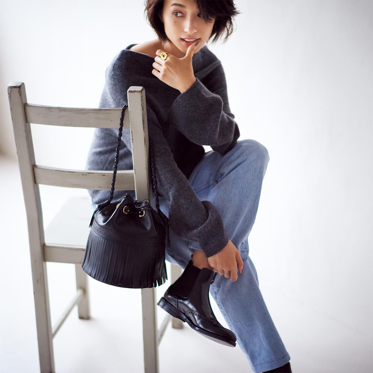 「男前ショート」ブーツは、上質素材と美シルエットで大人の品格をアピール_1_1