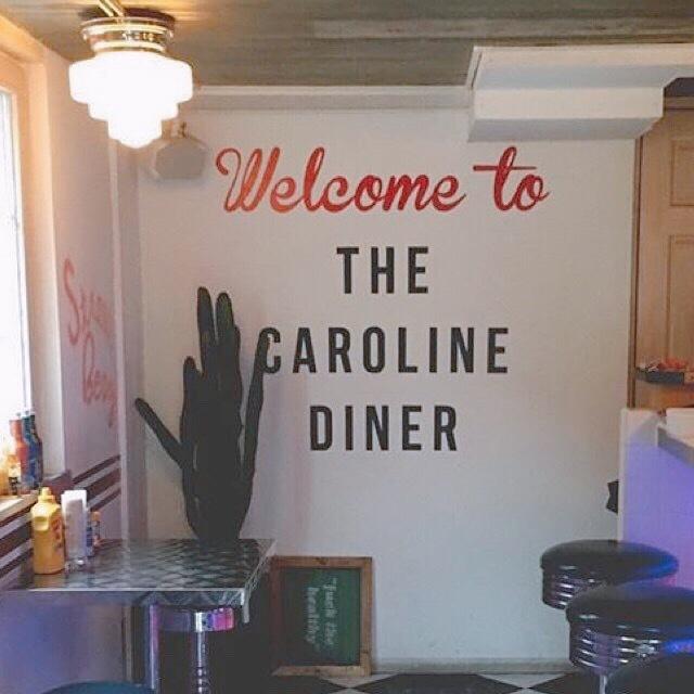 """【 第50回❤︎ 】原宿でアメリカ気分が味わえる!?""""CAROLINE DINER""""へ!_1_2-1"""